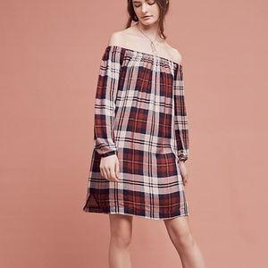 NWT Anthropologie Off-The-Shoulder Dress